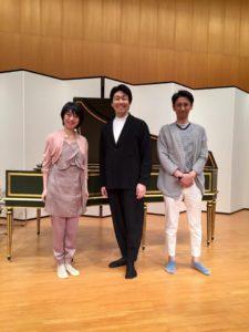 7/5紀尾井ホール公演<br>初合わせ