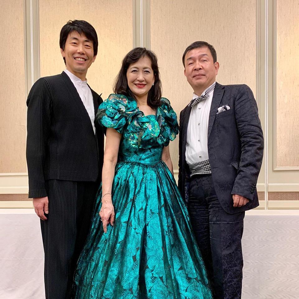 斉田先生ご夫妻と